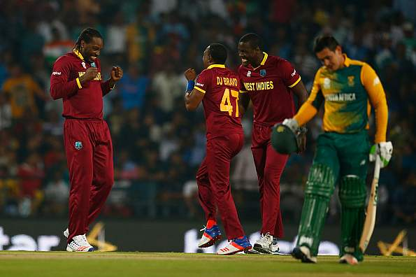 West Indies see off late South African resistance to seal semifinal berth